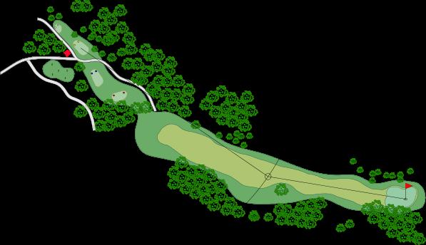 Ilustración hoyo 1