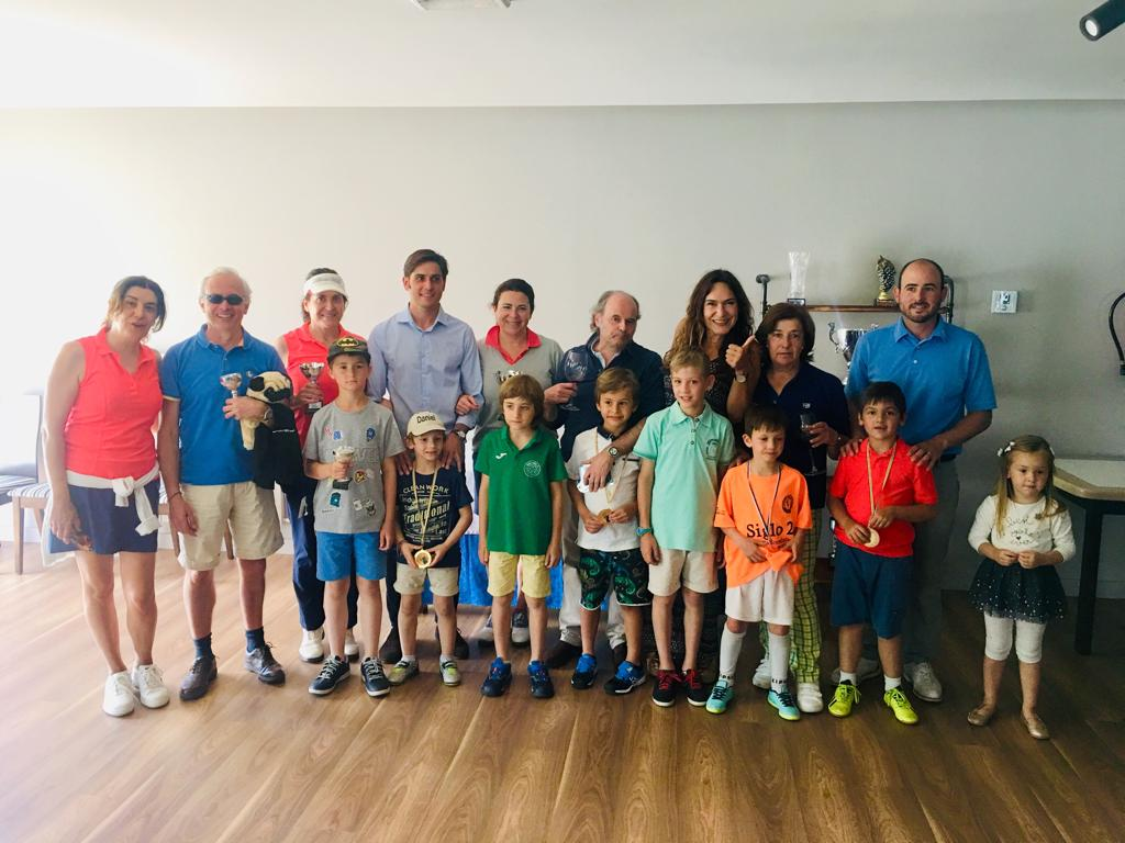 Final Liga 4ª y 5ª Categoría y Liga Juvenil de Golf Sojuela