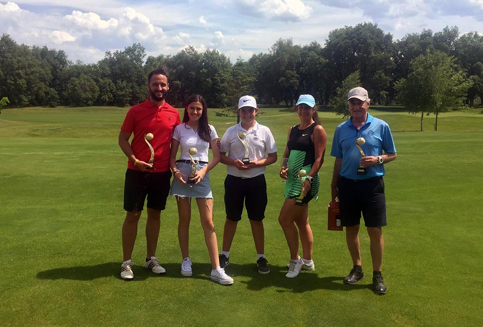 Jaime Ravina y Paula Pérez, nuevos campeones de Rioja Alta Golf Club absolutos